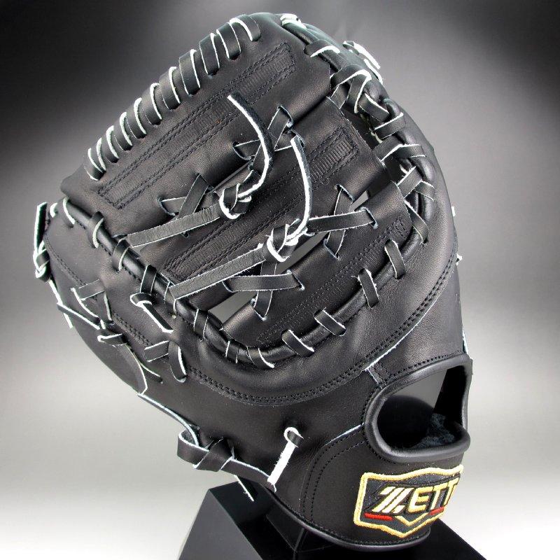 【送料無料】 2015年モデル ゼット ZETT 一般硬式一塁手用 左投げ PROSTATUS BPROFM3(1900RH)ブラック