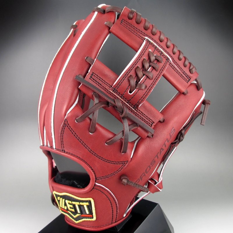 【送料無料】 2018年モデル ゼット ZETT 一般硬式二塁手・遊撃手用 右投げ プロステイタス シリーズ BPROG56(4000)ボルドーブラウン