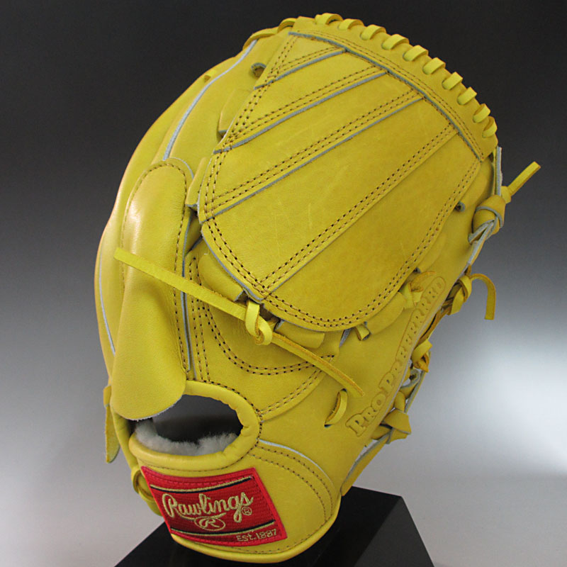 50% off rolling Rawlings General Regulation pitcher for propriphard Japan  PRO PREFERRED JAPAN GH4PRJ1 LMY (Lime yellow) throw size: 7