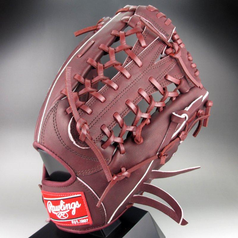 【送料無料】 2017年モデル ローリングス Rawlings 一般硬式外野手用 右投げ 魅せる捕球が男前シリーズ GH7MO7(SH)シェリー