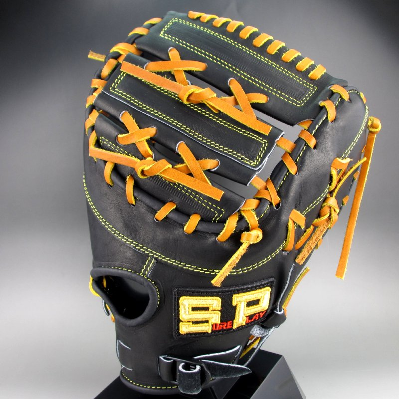 2018年モデル シュアプレイ 一般軟式一塁手用右投げ DIMA SBFDS3182(ブラック)