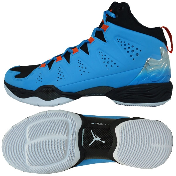 c658eee47ab1db It is dark powder blue   team orange   white   black Nike sole  agent-limited product Nike Jordan Melo M10 basketball shoes 629876 407 for  2