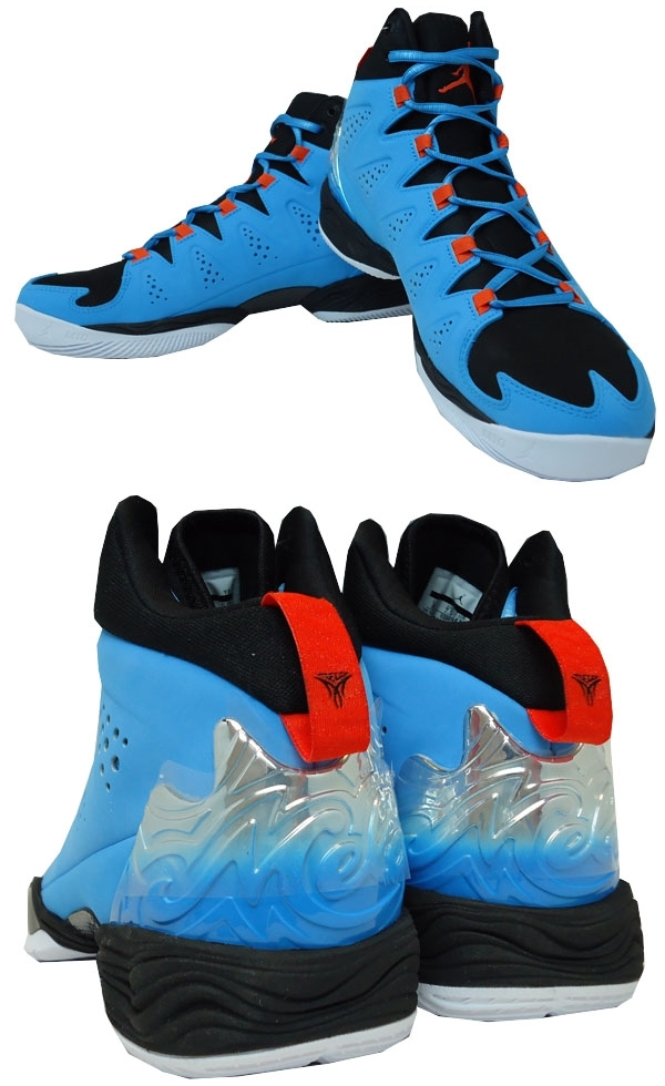 new concept cea7c c7a8e It is dark powder blue   team orange   white   black Nike sole  agent-limited product Nike Jordan Melo M10 basketball shoes 629876 407 for  2,014 years