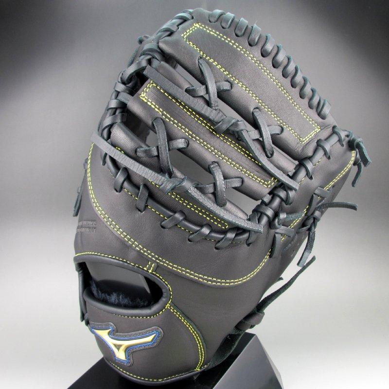 2018年モデル ミズノ Mizuno 一般軟式一塁手用右投げ セレクトナイン 1AJFR16600(09)ブラック
