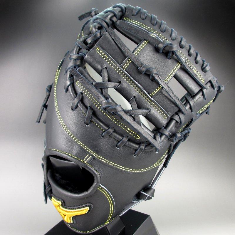 ポイント10倍【送料無料】 2016年モデル BSSショップ限定 ミズノ MIZUNO 一般硬式一塁手用 右投げ ミズノプロ スピードドライブテクノロジー 1AJFH14010 09:ブラック