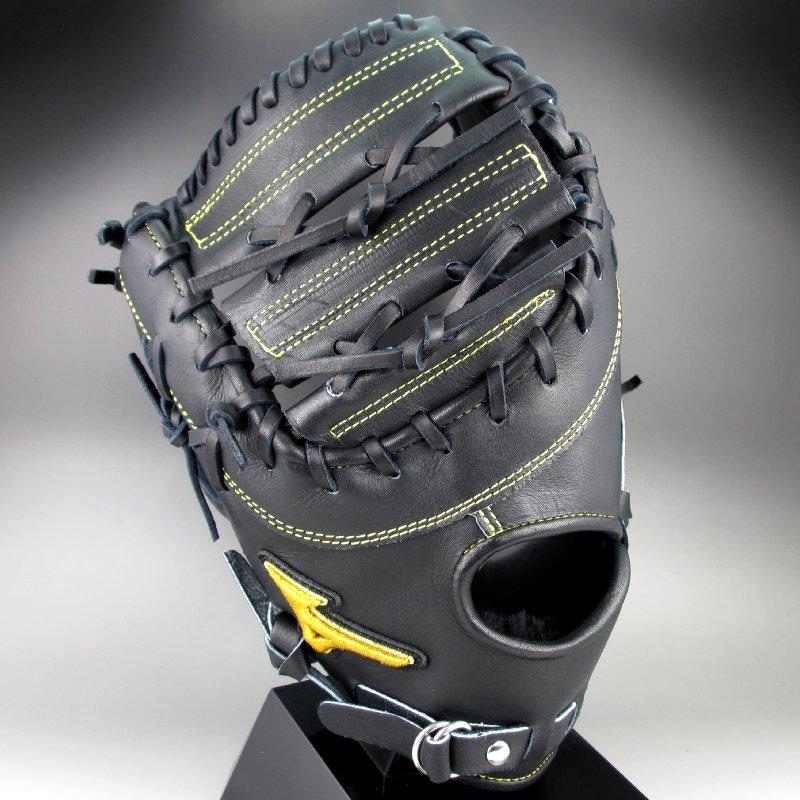 ポイント10倍【送料無料】 2016年モデル BSSショップ限定 ミズノ MIZUNO 一般硬式一塁手用 左投げ ミズノプロ スピードドライブテクノロジー 1AJFH14020 09H:ブラック