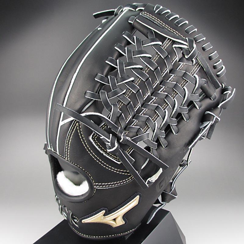 【送料無料】K-KLUB限定モデル ミズノ グローバルエリートFCライン 一般硬式内野手用H3 1AJGH12223 09:ブラック 右投げ