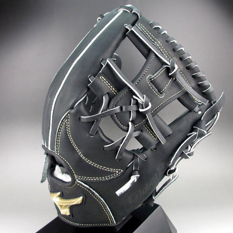 【送料無料】 ミズノ MIZUNO 一般軟式内野手用右投げ H セレクション 01 1AJGR18213(09)ブラック