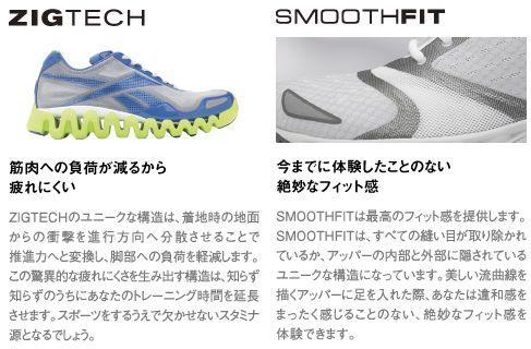 即使在 40%的折扣銳步運行 ZIGTECH 鞋 ZIGSONIC v45315 黑色/馬里布藍