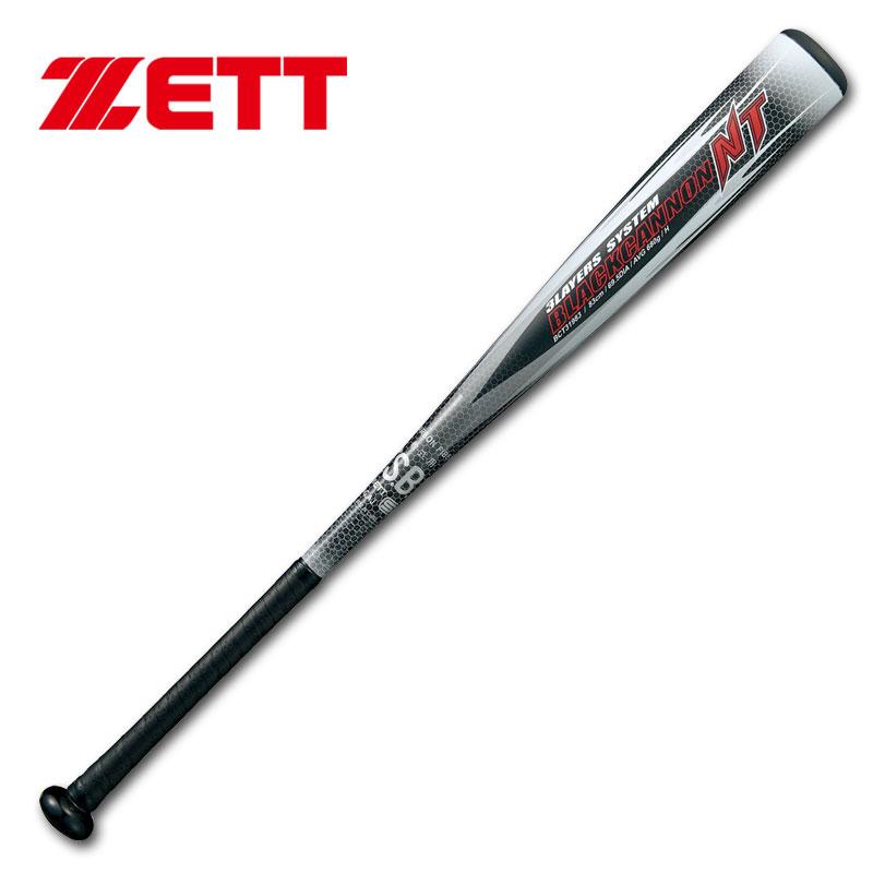 【送料無料】2019年モデル ZETT ゼット 軟式用バット ブラックキャノンNT M号球対応 BCT31983 BCT31984