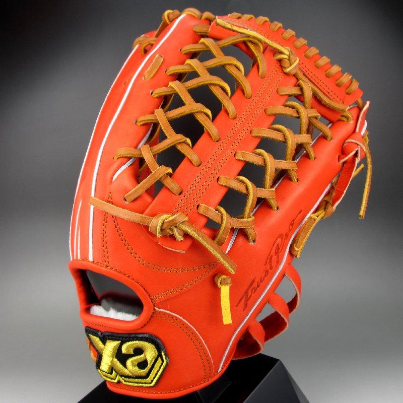 ザナックス 一般硬式外野手用右投げ トラストシリーズ BHG72116(DR2027)DRオレンジxタン
