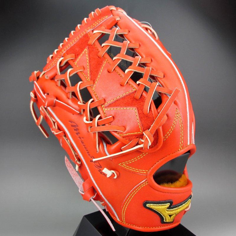 ミズノ 硬式グラブ 外野手 左投げ ミズノプロ フィンガーコア テクノロジー 1AJGH21107(M52)Mスプレンディッドオレンジ