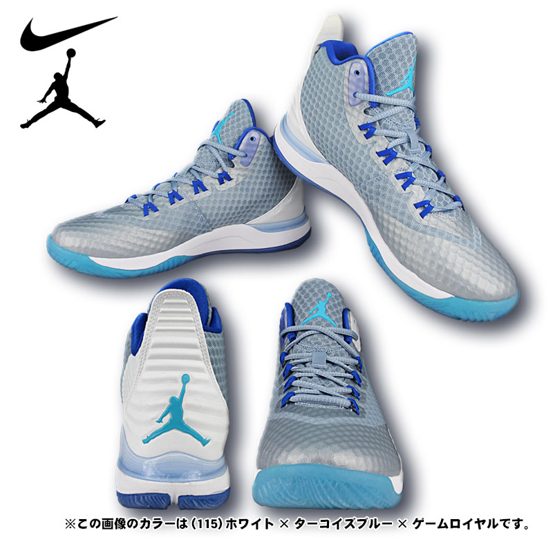 All Nike basketball shoes Jordan super fly 3PO 724934 two colors