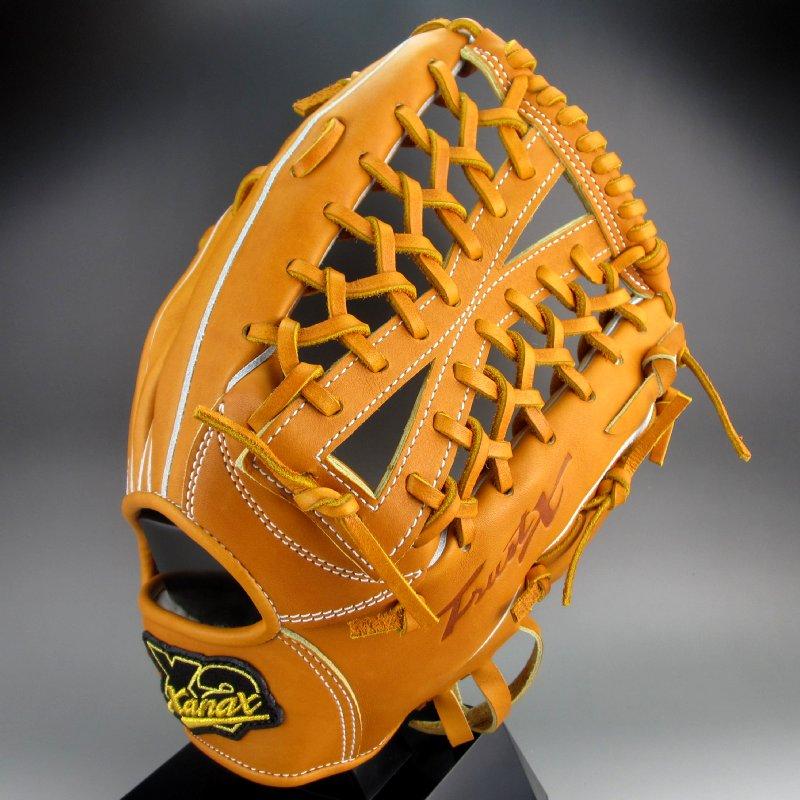 【送料無料】 2017年モデル ザナックス XANAX 一般硬式外野手用右投げ TRUST-X 限定 BHG-71215(35)キャラメルブラウン