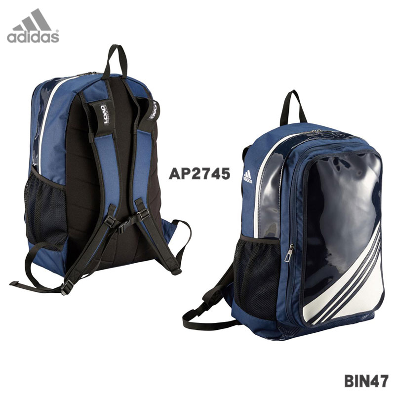 d33e45c1a4 2016 model adidas Adidas 3 stripe backpack baseball enamel BIN47  3-deployment