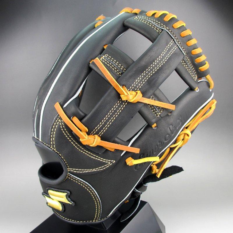 2019年モデル エスエスケイ ソフトボール スーパーソフト オールラウンド用 右投げ SSS9060(9047)ブラックxタン