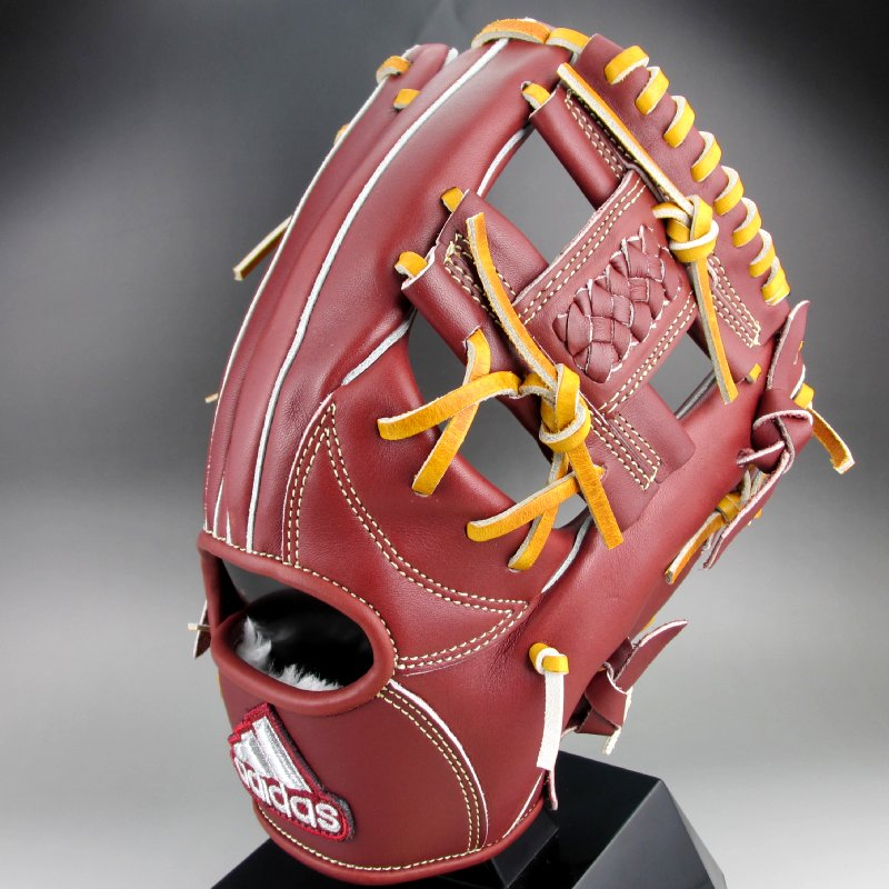 2018年モデル アディダス Adidas 一般軟式内野手用右投げ ETY94(DM8650)ノーブルマルーン【SP0901】