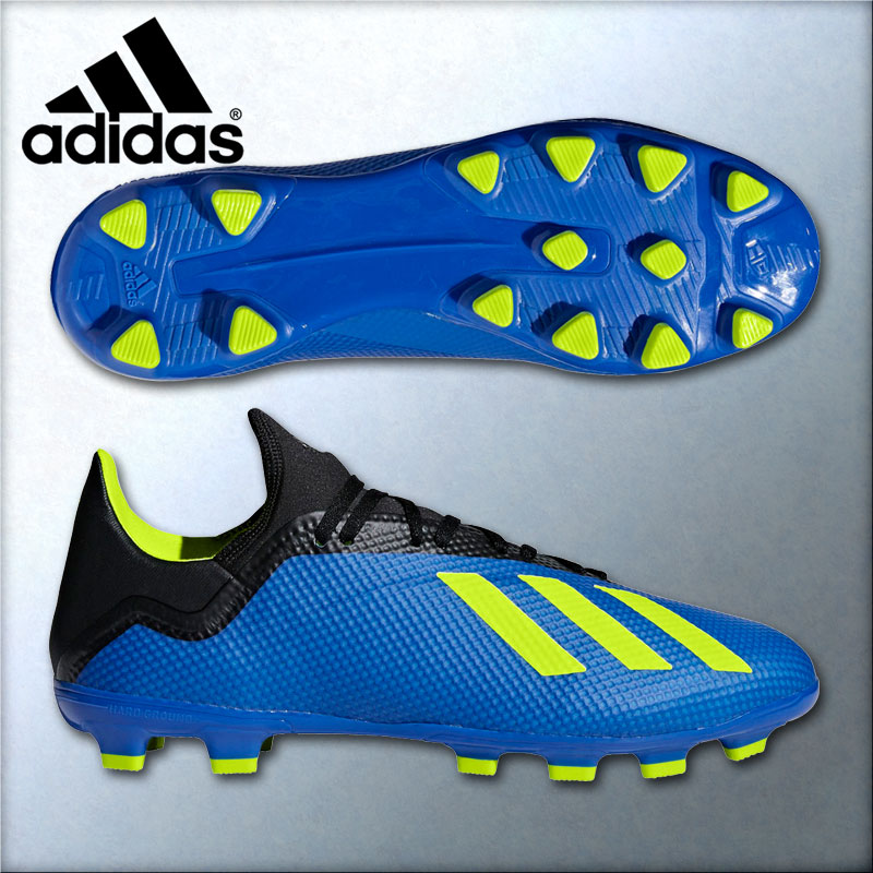 633e242513f1 2018 model Adidas Adidas soccer spikes X 18.3HG AG Russia World Cup wearing  BB6955