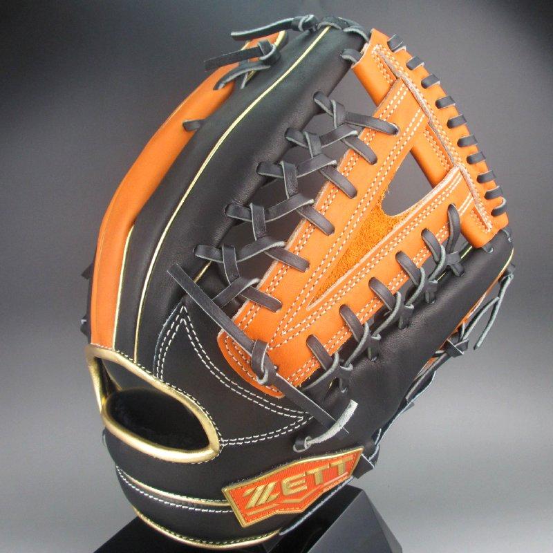 【送料無料】2019年モデル ゼット ZETT NEOSTATUS BRGB31977 一般軟式外野手用 右投げ (1956)ブラック×オレンジ