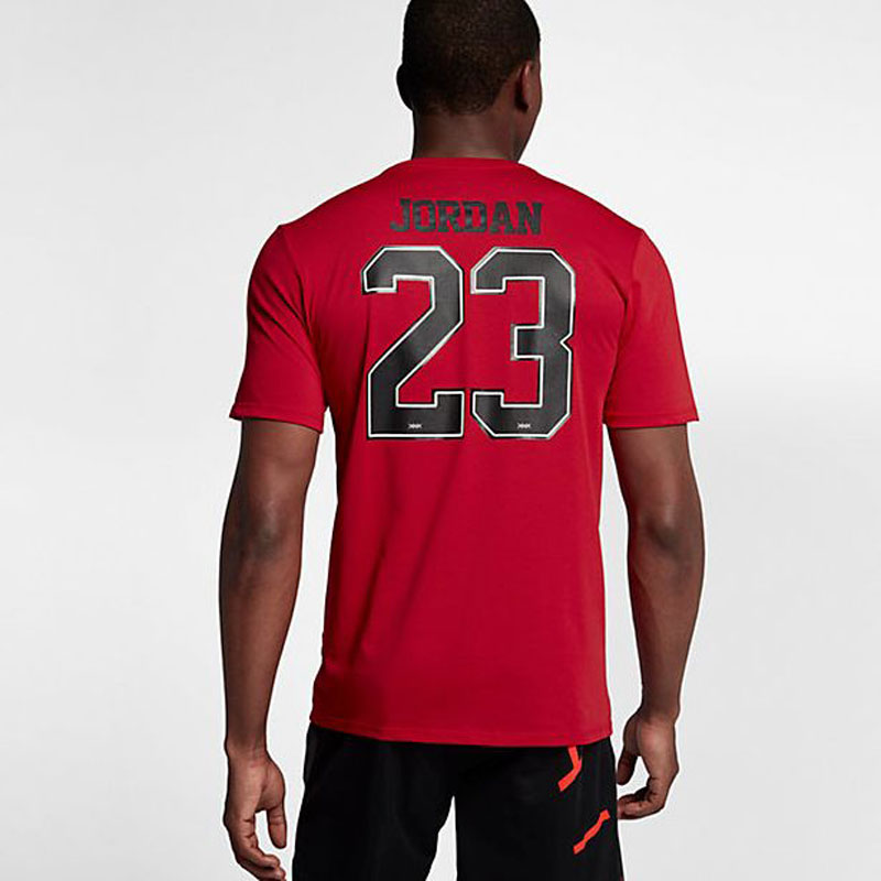 check out 344af 7b26f Winter of 2017 model Nike Nike basketball T-shirt JORDAN Jordan 23 red US  size 926,208-657
