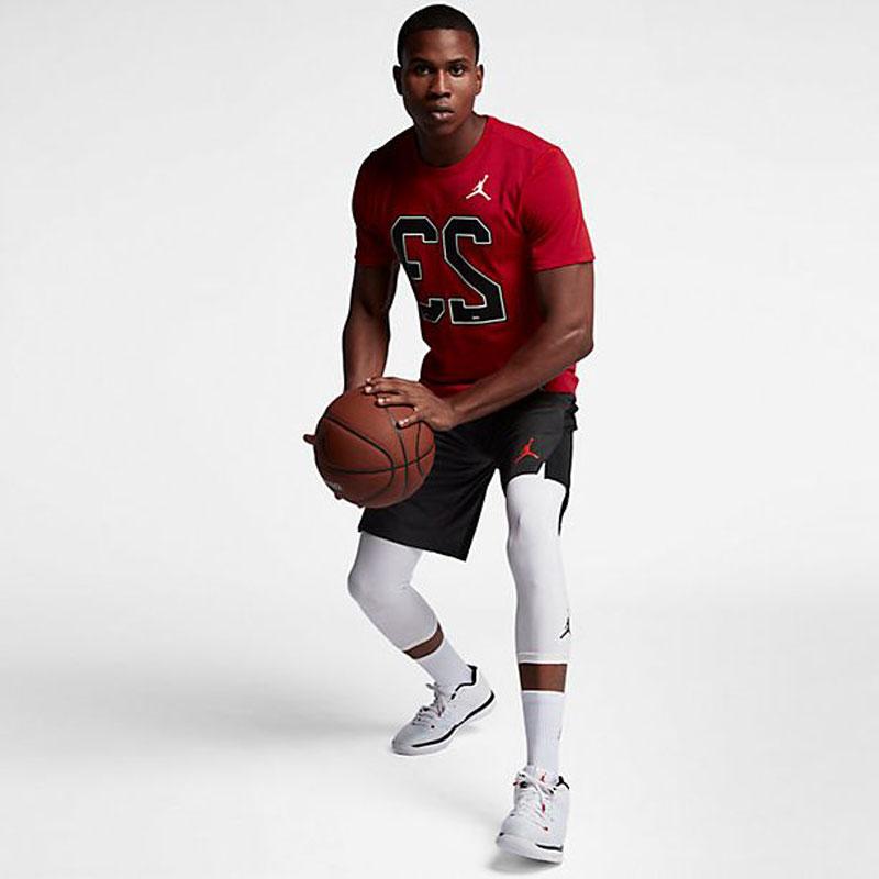 check out c442e 751ea Winter of 2017 model Nike Nike basketball T-shirt JORDAN Jordan 23 red US  size 926,208-657