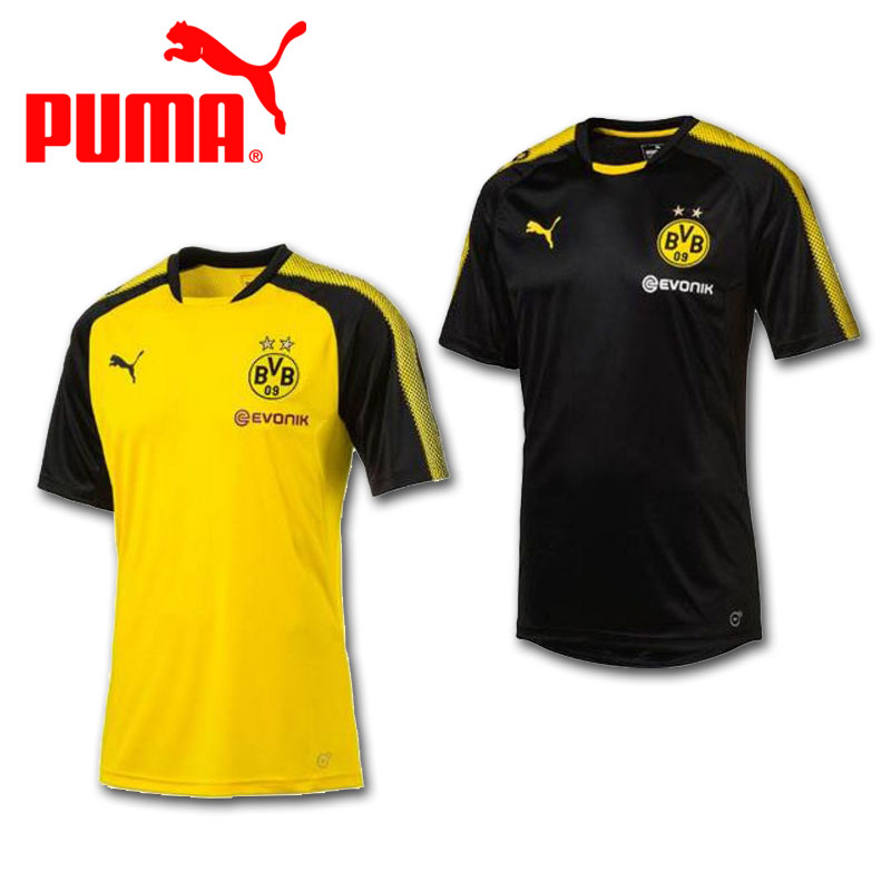 buy online a499d ea354 2017-2018 years model Puma PUMA practice shirt BVB Borussia Dortmund SS  training TEE 751765 two colors development