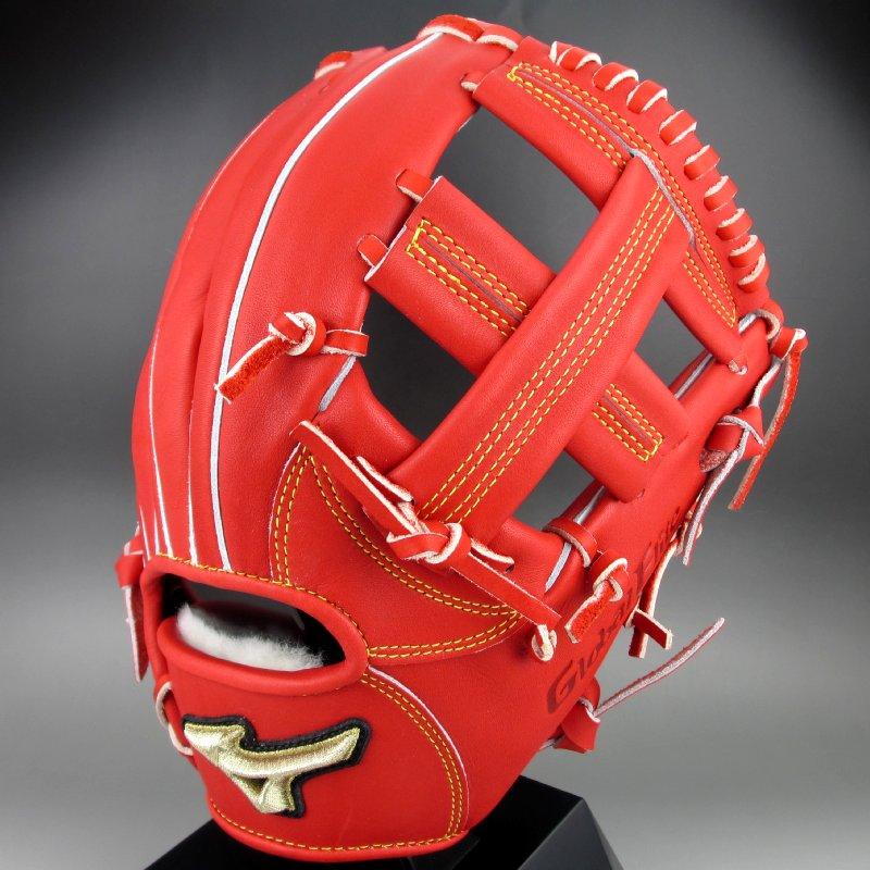 【送料無料】2019年モデル ミズノ MIZUNO 一般硬式二塁手・遊撃手用 右投げ グローバルエリート H Selection∞ 1AJGH20323 (70)ラディッシュ