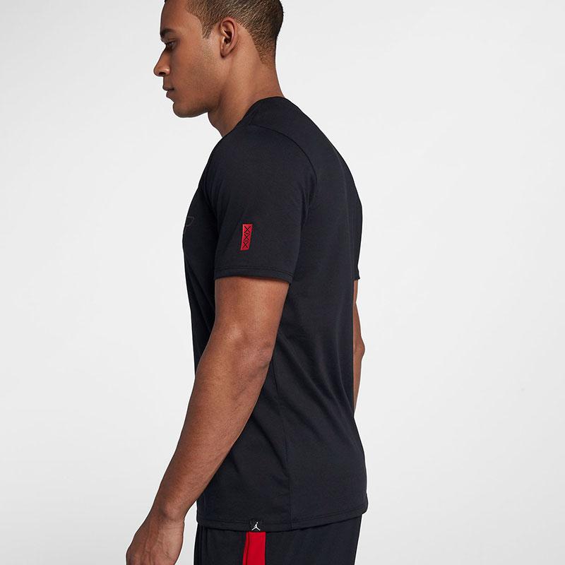 the best attitude 9f112 0c586 2018 model Nike NIKE T-shirt JORDAN Jordan rise S S TEE US standard 895179  three colors development