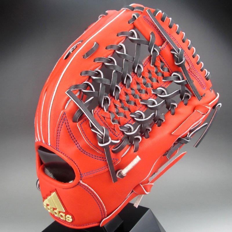 アディダス 軟式グラブ 外野手用 右投げ FTJ14(ED1683)アクティブオレンジ