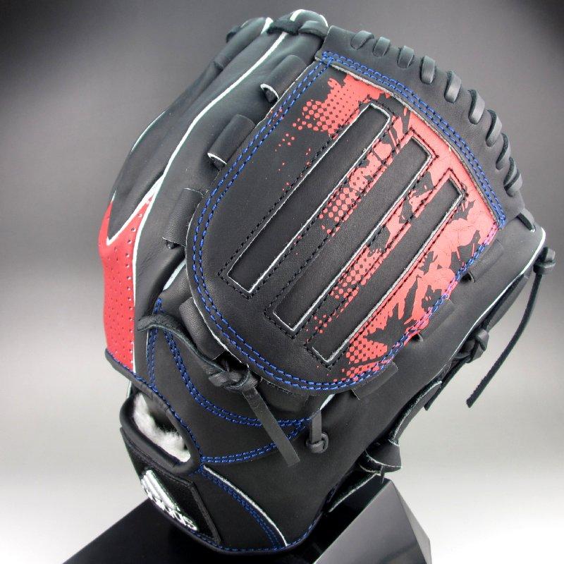 2018年モデル アディダス Adidas 一般軟式オールラウンド用右投げ ETY97(CX2095)ブラックxスカーレット