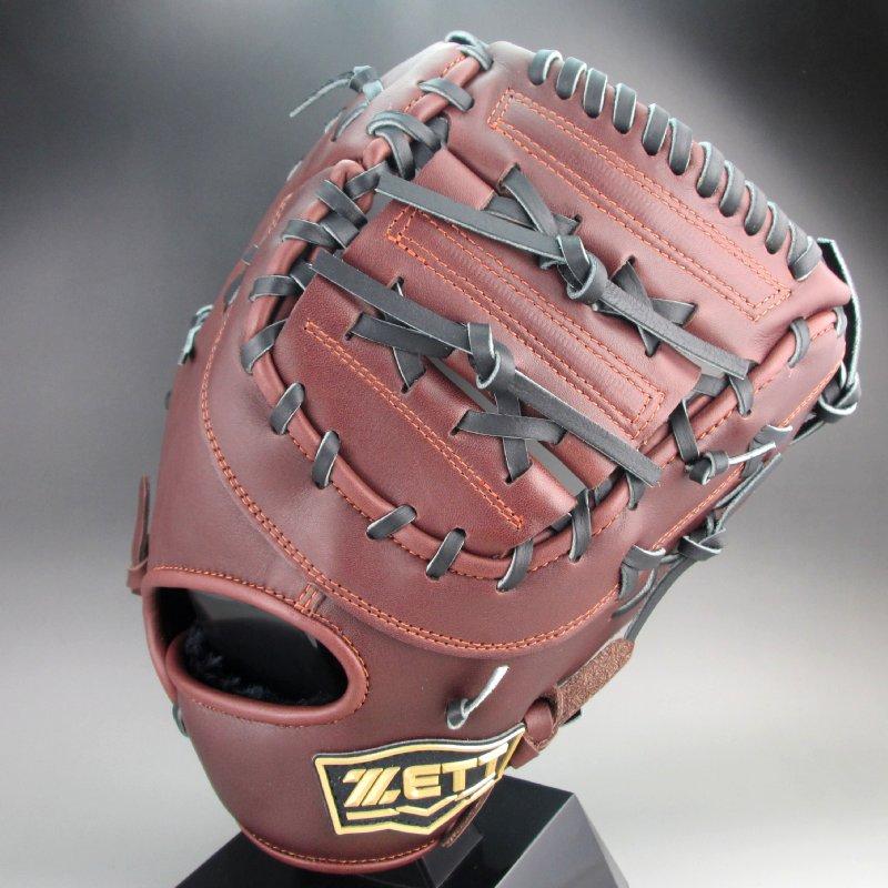 ゼット 軟式ミット 一塁手用 右投げ ウイニングロード BRFB33013(3719A)チョコブラウンxブラック