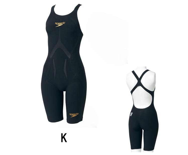 SPEEDO スピード Fastskin LZR Racer J ウィメンズニースキン【Swim7】 【19SHO】競泳水着 女性用 背開きタイプ スパッツ FINA承認 布帛