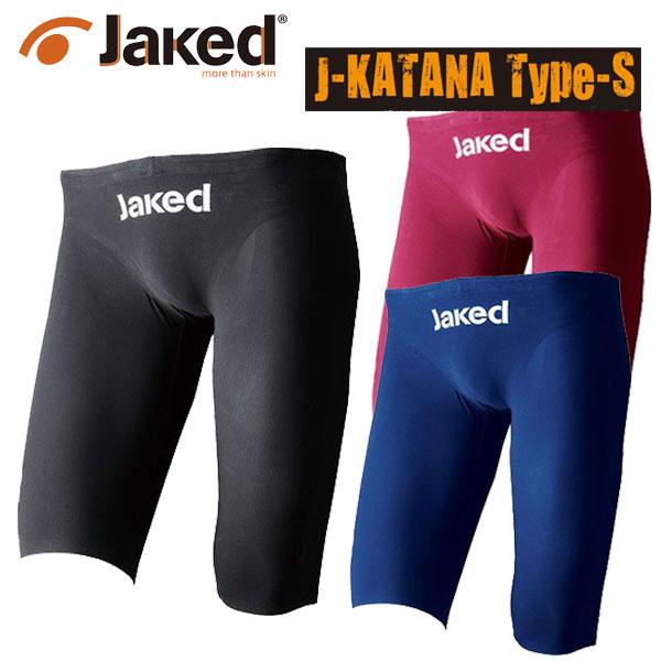 Jaked メンズ競泳水着  J-KATANA Type-S 縫製タイプ 820062  布帛【JAKED】