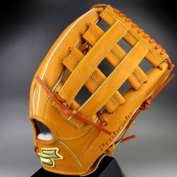 展示品 エスエスケイ SSK 一般硬式外野手用 右投げ プロブレイン PHX-77(44)Mブラウン 野球