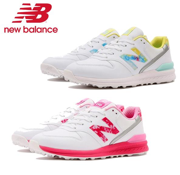 New 爆安 Balance ニューバランス WGS996 スパイクレス 大特価!! 標準 足幅D レディース ゴルフシューズ