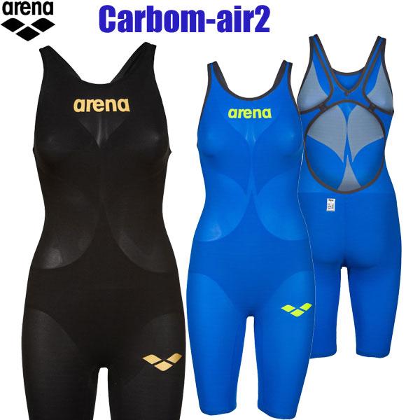 アリーナFINA承認モデル ハーフスパッツオープンバック レディース競泳水着 パワースキンカーボンエア 2【swim7】【19SSA】競泳水着 女性用 FINA承認