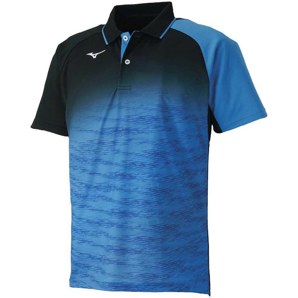 ミズノ MIZUNO ゲームシャツ 62JA850824 StandardFit ダイナモーションフィット ドライサイエンスPLUS UPF25 ソフトテニスウエア