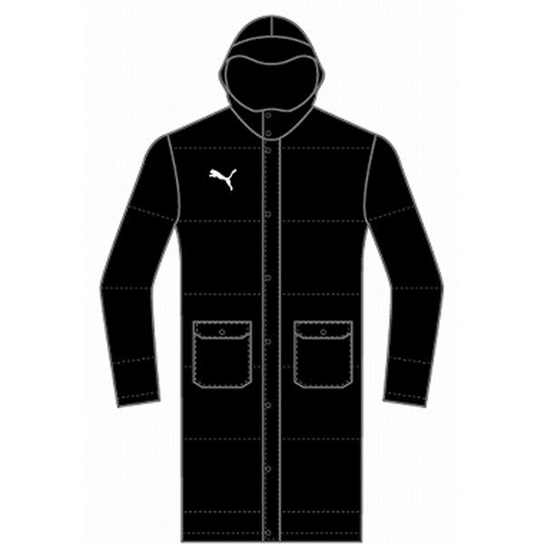 プーマ TT ESS PRO JR Long Down Coat JP PMJ-654985 ジュニア