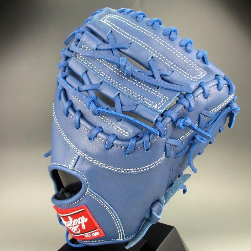 2019年モデル ローリングス Rawlings 少年軟式一塁手用右投げ ハイパーテック GJ9HT3ACD(RY)ロイヤル