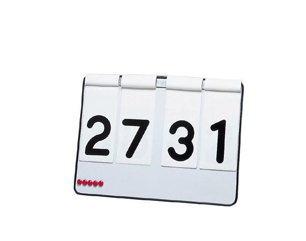 トーエイライト ハンディー簡易得点板 TOE-B7725
