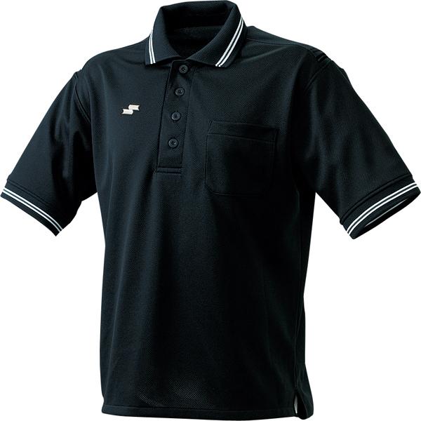 SSK 副本裁判 SSK UPWP1101R 男式襯衫的 & 中性黑色