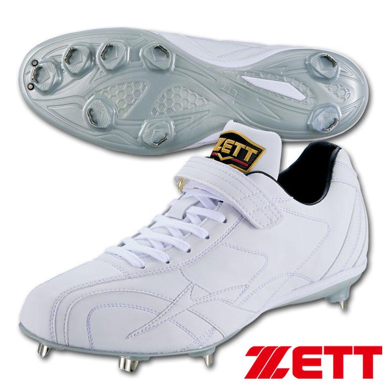 【送料無料】2020年モデル ゼット プロステイタス 野球スパイク 金具埋込式 ホワイト BSR2976WH
