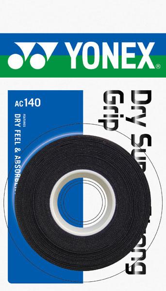 ヨネックス ドライスーパーストロンググリップ YNX-AC140  (007)ブラック