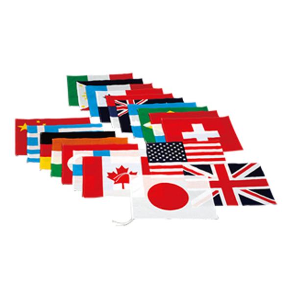 エバニュー(Evernew) 万国旗20カ国(旗のみ)