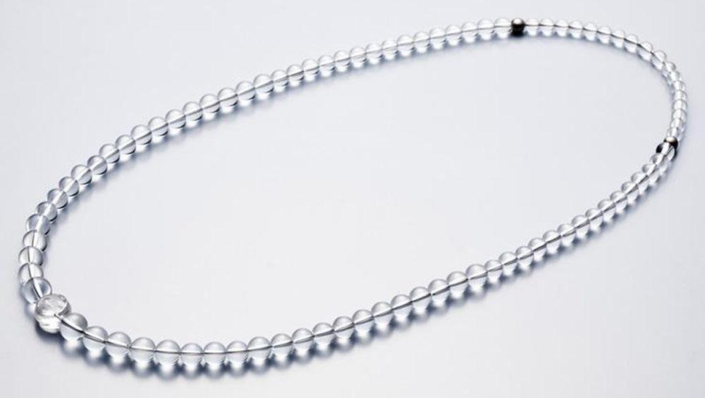 ファイテン(PHITEN) 水晶ネックレス グラデーション 80cm