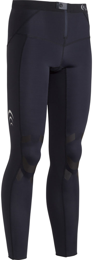 C3fit(シースリーフィット) 【メンズ インナーウェア】 エレメントエアーロングタイツ MEN'S ブラック