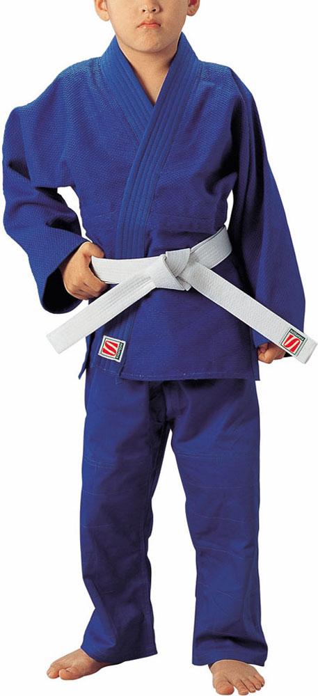 KUSAKURA(クザクラ) JYN 一重織ブルー柔道衣 上下セット3サイズ