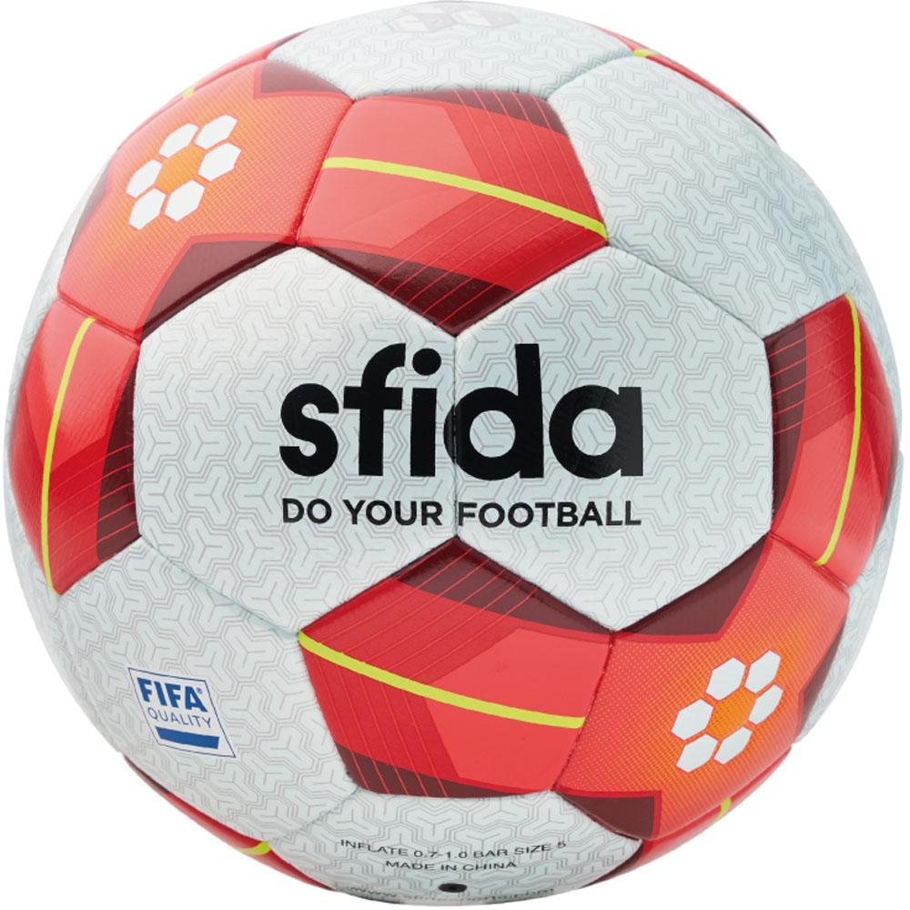 SFIDA(スフィーダ) 【サッカーボール 5号球】 VAIS PRO 白い/赤