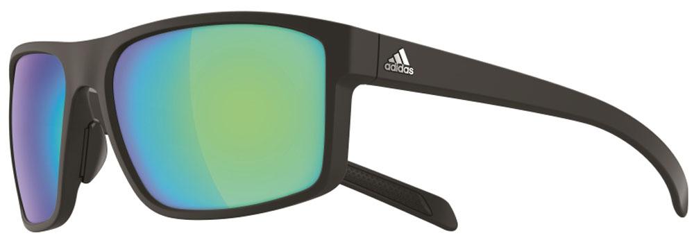 adidas(アディダス) ゴルフ サングラス WHIPSTART マットブラック×グレイ・ブルーミラー