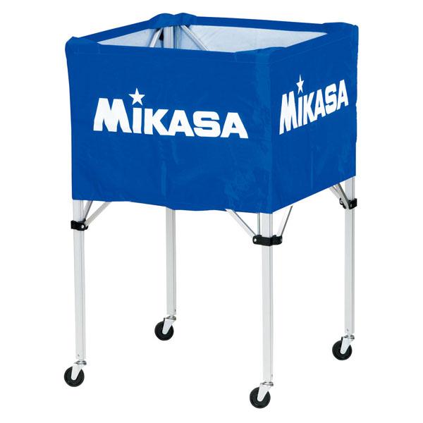 ミカサ(MIKASA) ワンタッチ式ボールカゴ(フレーム・幕体・キャリーケース3点セット) ブルー